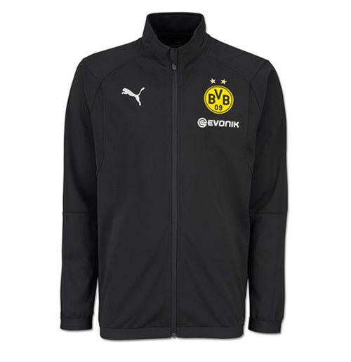 2018-2019 Borussia Dortmund Puma Poly Jacket (Black) - Kids