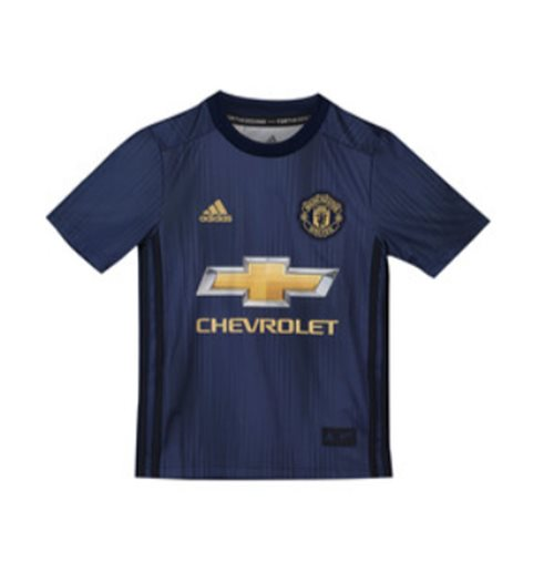 2018-2019 Man Utd Adidas Third Football Shirt (Kids)