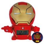 Marvel BulbBotz Alarm Clock with Light Iron Man 14 cm