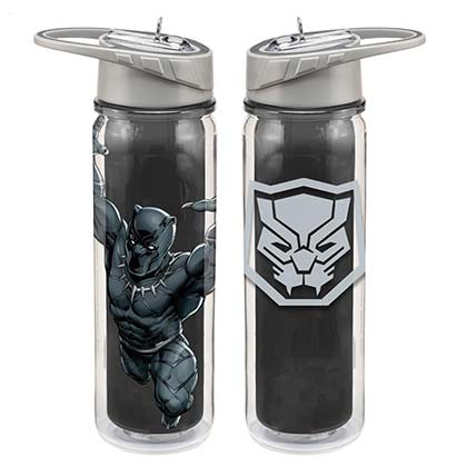 BLACK PANTHER Tritan 18oz Water Bottle