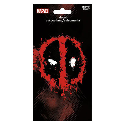 DEADPOOL Superhero Logo 4x8IN Sticker Decal