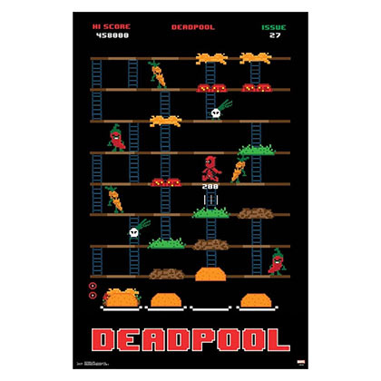 DEADPOOL Game 23 x 34 Marvel Poster