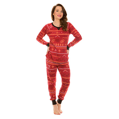 HARRY POTTER Long Sleeve Thermal Women's Pajama Sleep Set
