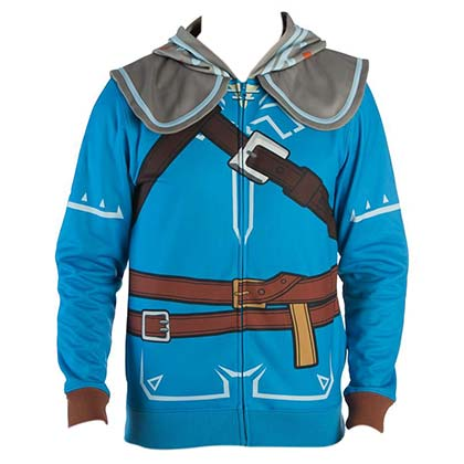 The LEGEND OF ZELDA Breath Of The Wild Link Costume Men's Hoodie Cosplay