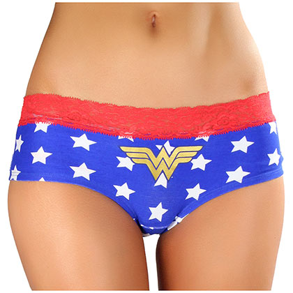 WONDER WOMAN Star Print Women's Panties Underwear