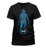 Westworld T-Shirt Blue Man