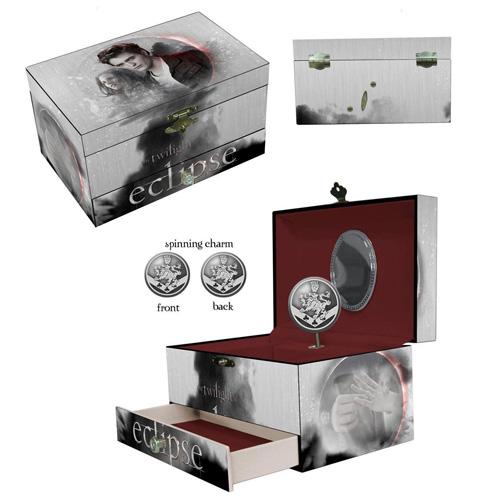 Twilight Jewelry Box Design Eclipse Edward und Bella with music