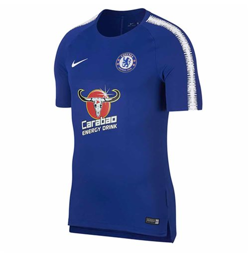 2018-2019 Chelsea Nike Training Shirt (Blue)
