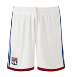 2018-2019 Olympique Lyon Adidas Home Shorts (White) - Kids