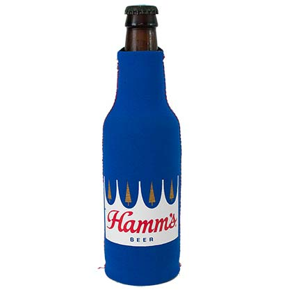 HAMM'S Crown Bottle Cooler Insulator Suit