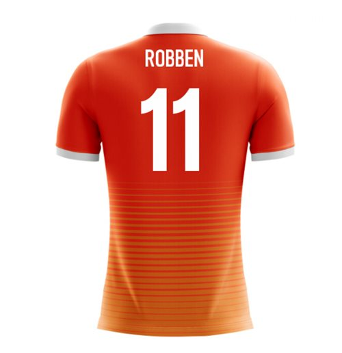 2018-19 Holland Airo Concept Home Shirt (Robben 11)