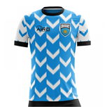 2018-2019 Uruguay Home Concept Football Shirt