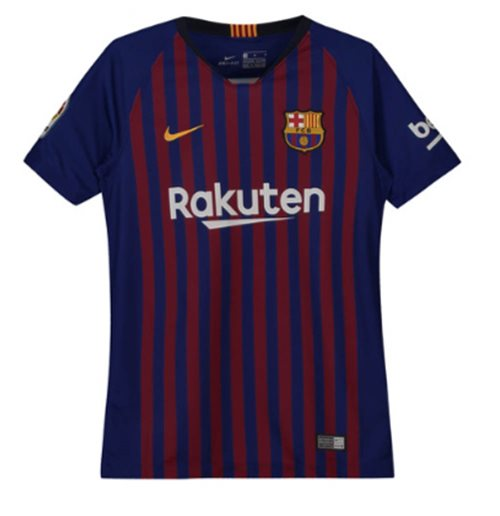 bbc17b1de Buy Official 2018-2019 Barcelona Home Nike Shirt (Kids)