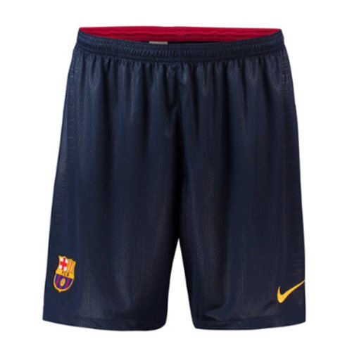 2018-2019 Barcelona Home Nike Football Shorts (Navy)