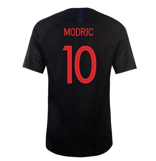 2018-2019 Croatia Away Nike Football Shirt (Modric 10)