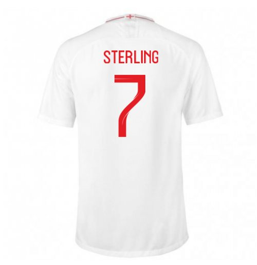 2018-2019 England Home Nike Football Shirt (Sterling 7)