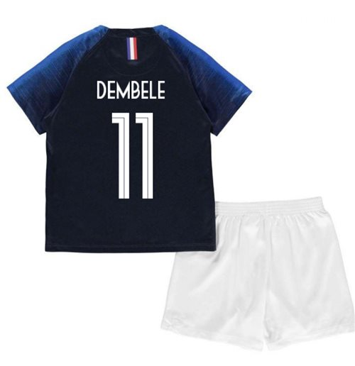 2018-2019 France Home Nike Mini Kit (Dembele 11)