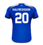 2018-2019 Iceland Home Errea Football Shirt (Halfredsson 20)