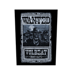 Volbeat Back Patch: Wanted