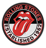 The Rolling Stones Standard Patch: Est. 1962 (Iron On)