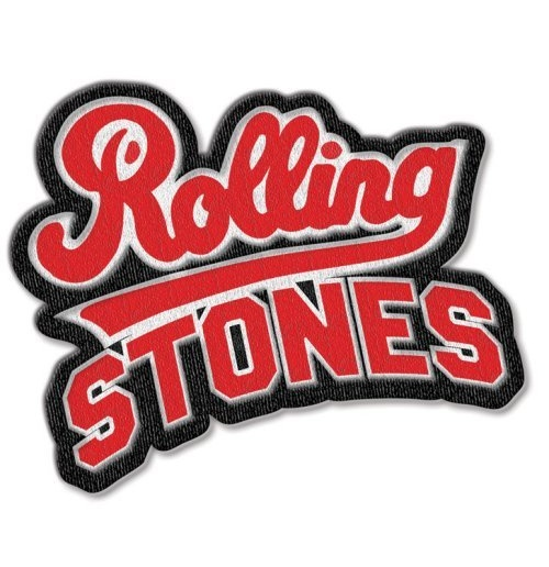 The Rolling Stones Standard Patch: Team Logo with Iron On Finish