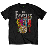 The Beatles Men's Tee: Sgt Pepper (Retail Pack)