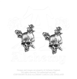 Metallica Stud Earrings: Damage