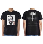 Marilyn Manson Men's Tee: Heaven Upside Down Tour (Summer 2017) (Ex Tour/Back Print)
