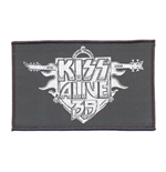 KISS Standard Patch: Alive 35 Tour