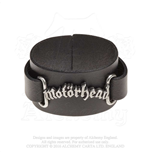 Motorhead Leather Wrist Strap: Logo
