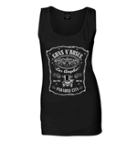Guns N' Roses Ladies Tee Vest: Paradise City