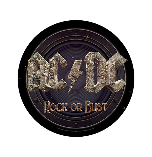 AC/DC Back Patch: Rock Or Bust