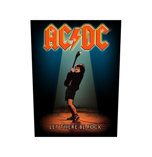 AC/DC Back Patch: Let There Be Rock