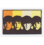 The Beatles Standard Patch: Heads in Bands (Iron On)