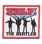 The Beatles Standard Patch: Help! (Iron On)