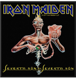 Iron Maiden Standard Patch: Seventh Son (Packed)