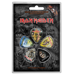 Iron Maiden Plectrum Pack: The Faces of Eddie