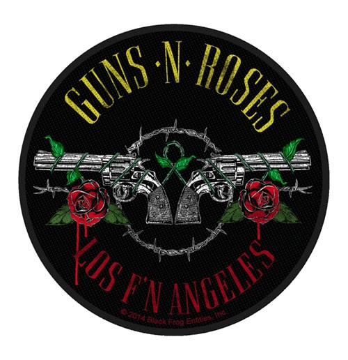 Guns N' Roses Standard Patch: Los F'N Angeles (Packed)