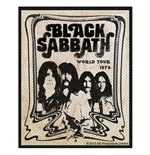 Black Sabbath Standard Patch: Band (Packed)