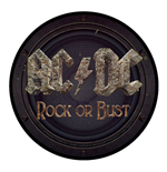 AC/DC Standard Patch: Rock or Bust (Loose)