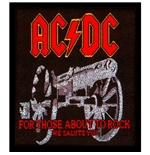 AC/DC Standard Patch: For those about to Rock (Loose)