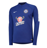 2018-2019 Chelsea Nike Drill Training Top (Blue)