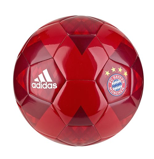2018-2019 Bayern Munich Adidas Supporters Football (Red)