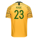 2018-2019 Australia Home Nike Football Shirt (Rogic 23)