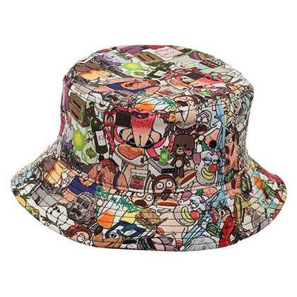 282c1e73c01 Rick And Morty Show Characters Bucket Hat