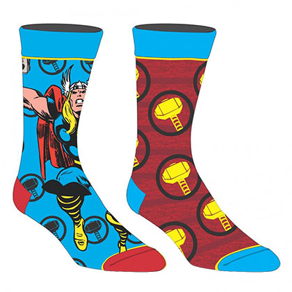 THOR Superhero 2 Pack Men's Crew Socks