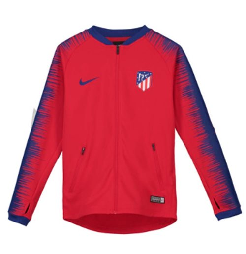 2018-2019 Atletico Madrid Nike Anthem Jacket (Red) - Kids