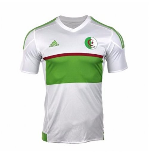 2017-2018 Algeria Home Adidas Football Shirt