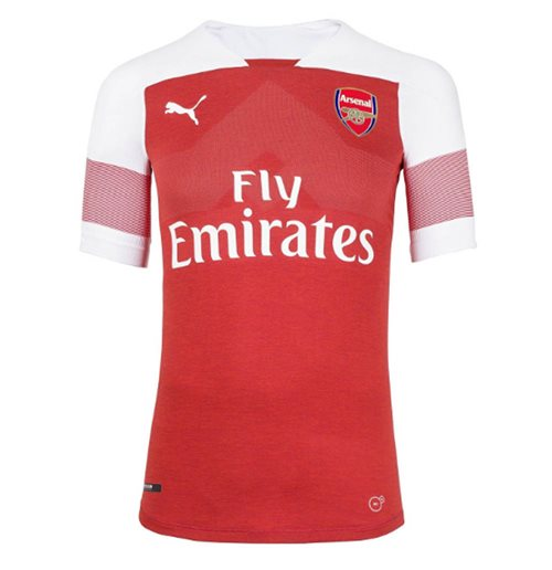 2018-2019 Arsenal Puma Home Football Shirt