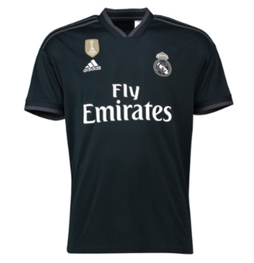 2018-2019 Real Madrid Adidas Away Football Shirt